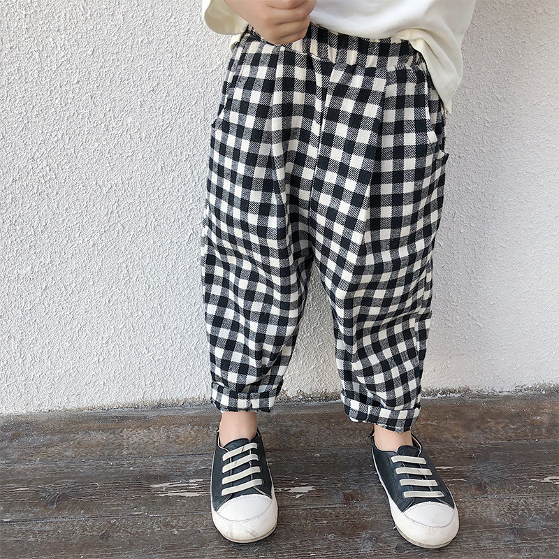 Susie Zechariah Spring Autumn Casual Kids Boys Clothing Girls Sports Long Trousers Harem Pants