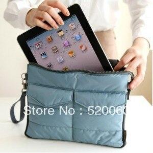 Free shipping pad bag free shipping tablet bag good quality many porket pc bag Inner Bag Binder Organizer Hangbag