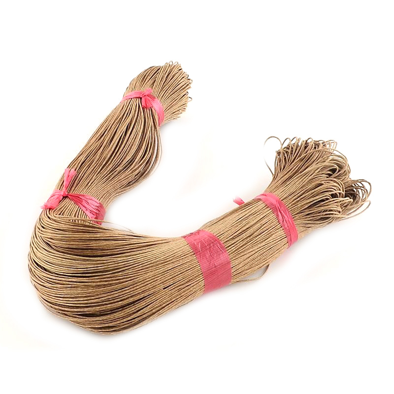 Pandahall Cotton Wax Cord 1mm findings for diy jewelry bracelet necklace craft making 400m bundle