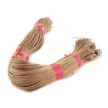 Pandahall Cordón de Cera de Algodón, 1mm para diy joyería collar pulsera artesanía hacer 400 m/bundle
