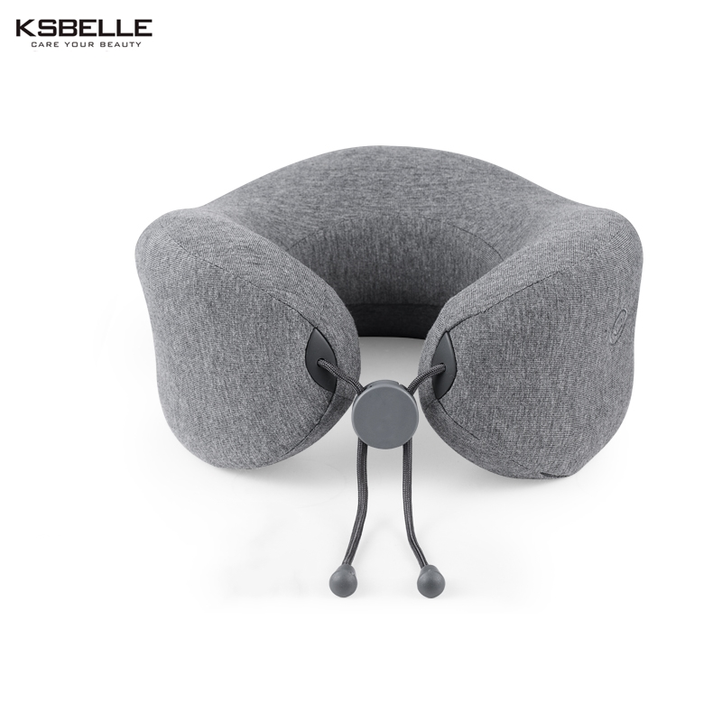 Top quality Sleep solution Kneading Shiatsu Massage PNeck Massager U Shape Pillow Electric Travel Nap Memory Pillow Massager creative rhinestone swans pattern square shape pillow for office nap without pillow inner