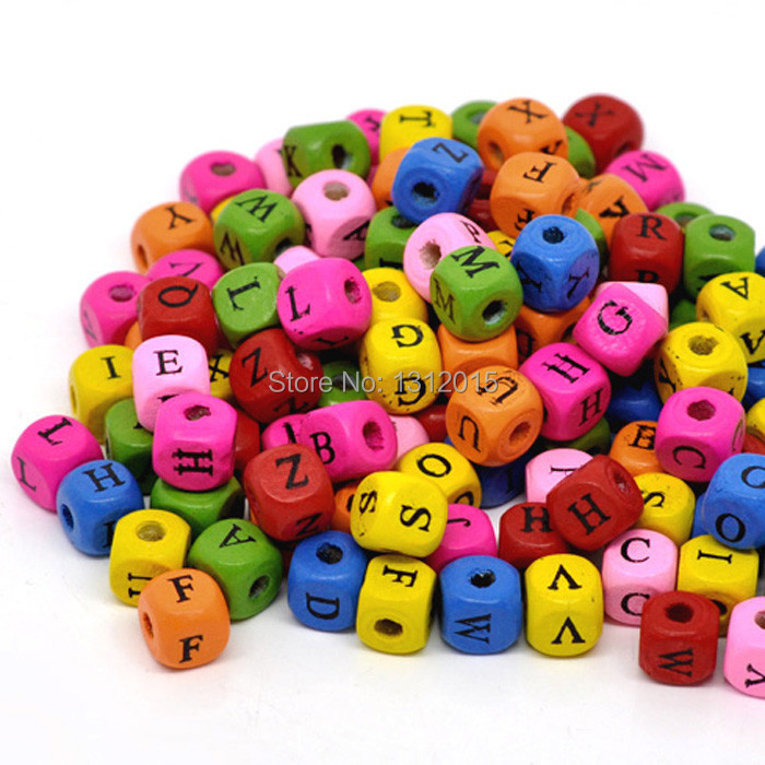 popular wood letter beads buy cheap wood letter beads lots With wooden letter beads wholesale