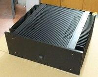 New4015 Полный алюминиевый корпус усилителя/мини усилитель корпус/коробка предварительного усилителя/корпус для блока питания