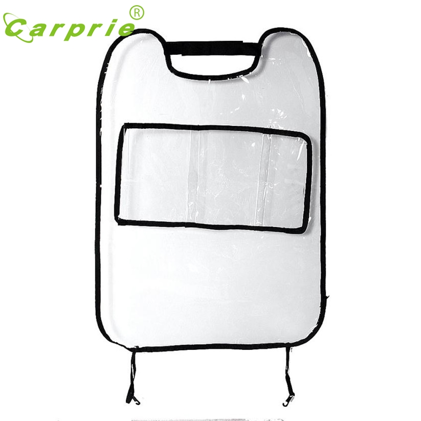 Car-styling Car-Covers 2017 Car Auto Seat Back Protector Cover For Children Kick Mat Storage Bag td15 Dropship