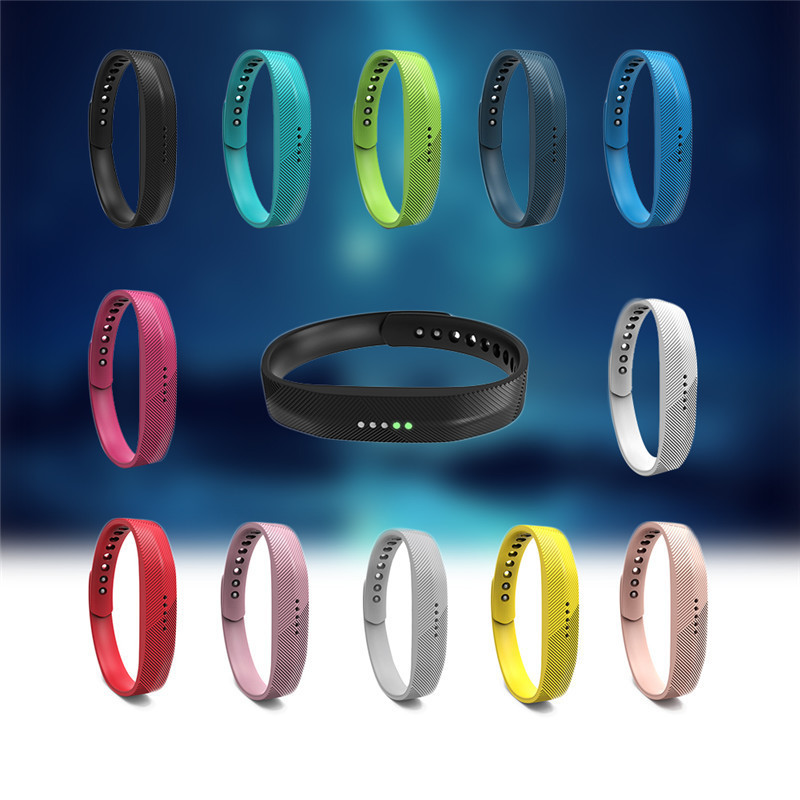 2017 Hot sale Colorful Silicone Replace Wrist Band Strap Bracelet For Fitbit Flex 2 Smart Band Replace Bracelet For Fitbit Flex2 ...