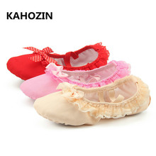new Ballet Dance Dancing Shoes Pointe For Children Kids Girls Women Soft Flats Shoes Comfortable Fitness Breathable Slippers