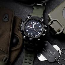 Men's Fashionable Multi-Functional Student Electronic Watch Outdoor Sports Dual-