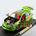 New Hottest YatMing 1/18 Scale 2003 PONTIAC VIBE TUNER Green Diecast Model Cars Toys brinquedos For Kids Toys Collections Gift E