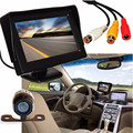 Dependable New 4.3 inch TFT LCD Car Rear View Backup Monitor+Wireless Parking Night Vision Camera Ap12 dropshipping