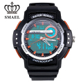 Man Multi-function Outdoor Dual Display Waterproof Leisure Electronic Watch Fashion Han Edition Stopwatch Sport 1503
