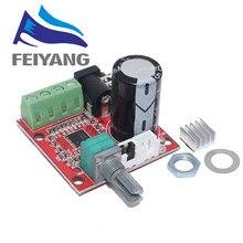 10 шт. 12 В мини Hi Fi PAM8610 аудио стерео усилитель плата 2X10W двухканальный D Класс смарт электроники горячая распродажа
