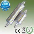 DHL Free shipping 50pcs/lot 10W led R7S light 118mm 360 angle dimmable R7S led bulb J118 R7S lamp AC110-240V