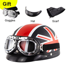Semi-Packed Electric Vehicle Helmet Outdoor Cycling Sun Protection Summer Goggles Set