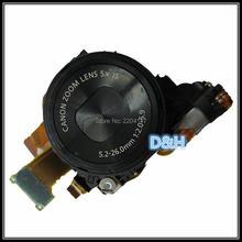 Prata e preto Original Lens Unit Zoom Para CANON PowerShot S110 Digital Camera Repair Parte com CCD