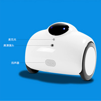Smart video robot car home smart Children monitors wifi Wireless remote monitoring English version DHL free
