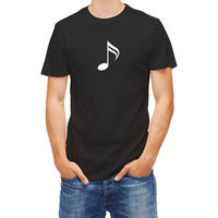 T Shirt Music Note Tees Men S Clothing Big Size S XXXL Fashion Cotton T Shirts