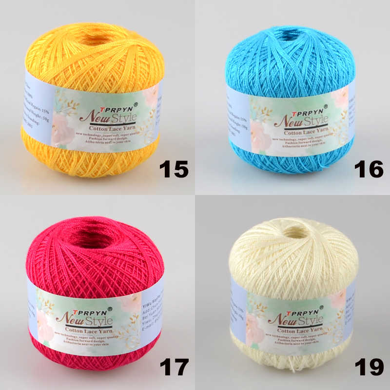 Detail Feedback Questions About Tprpyn 1pc50g 8 Crochet Cotton