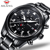 Luxury Brand AILANG Fashion Steel Strap Automatic Mechanical Watches Men S Sports Military Wrist Watch Black