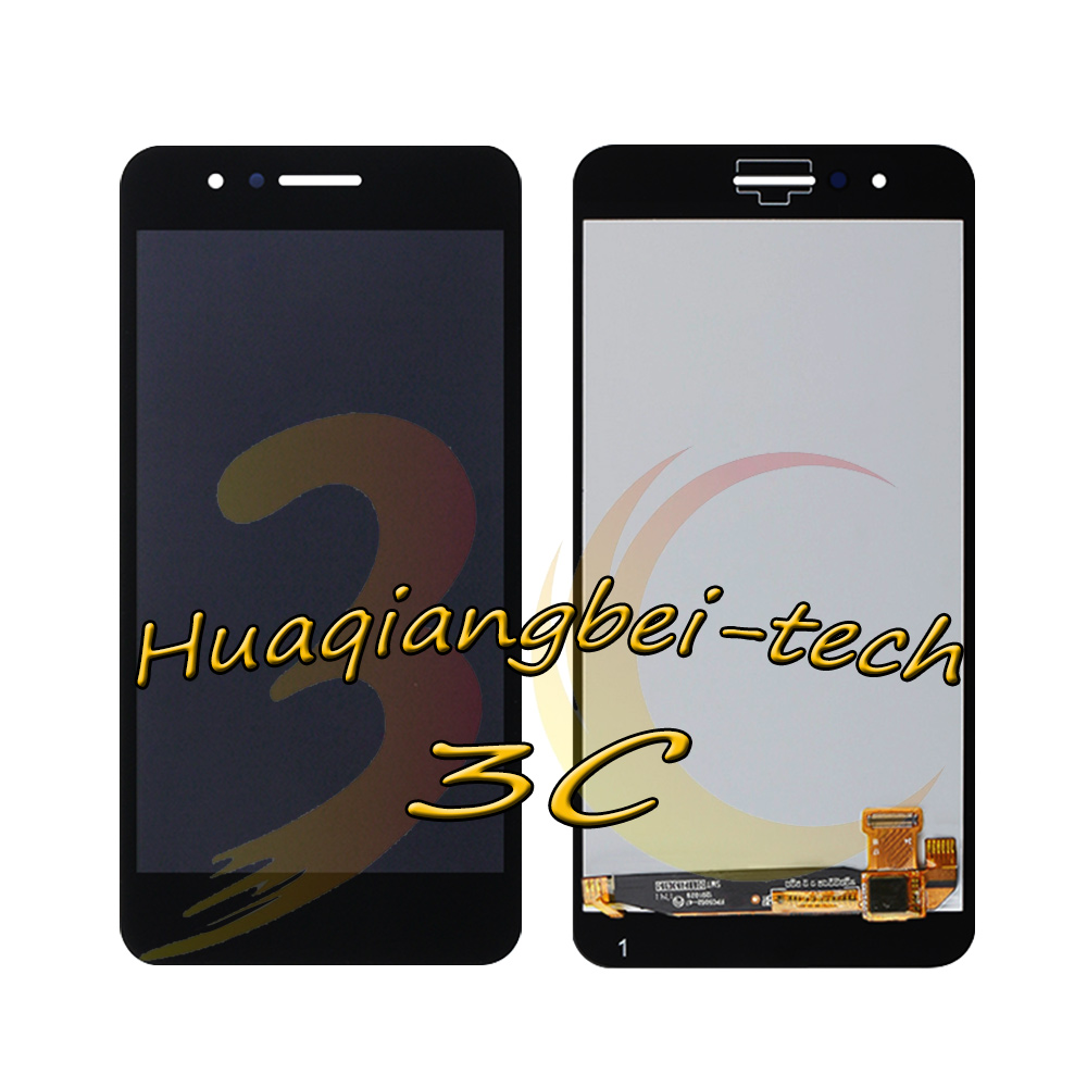 Image 2 - 5.0 New For LG LMX210MA Aristo LTE / K9 2018 LMX210EMW LMX210NMW LMX210EM Full LCD DIsplay + Touch Screen Digitizer Assembly With Frame 100% Tested-in Mobile Phone LCD Screens from Cellphones & Telecommunications on