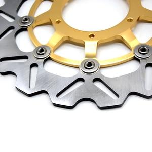 Image 5 - CNC мотоцикл передний ротор плавающего тормозного диска и задний тормозной диск ротора для Honda CBR600 cbr 600 2007 2013 CBR600RR 2003 2014