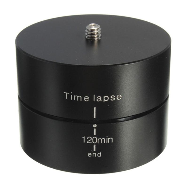 Prix pour 360 Degrés 120 Min Panoramique Rotation Drift Accéléré Stabilisateur Oeuf Minuterie + adaptateur Pour Gopro Hero 5 4 3 + XIAOMI YI SJCAM Caméra