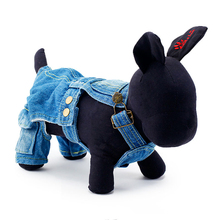 Hot Selling Pet Clothing Dog Jean Rompers New Style Dog Jumpsuits for chihuahua Clothes For Dog Cat