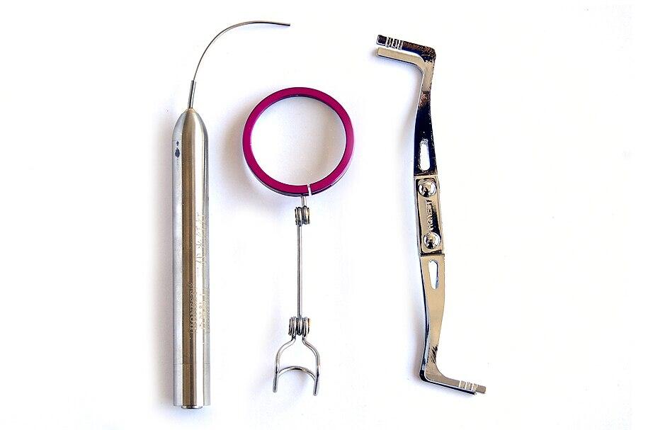 Free shipping Super High Brightness Fiber Optic Light With Tension Clip Locksmith Tools BK112