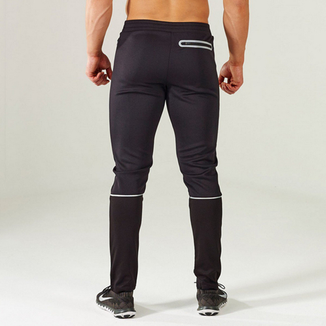 Gymshark sweatpants slim fit Size M-XXL black navy blue formfitting full length zipper side pockets