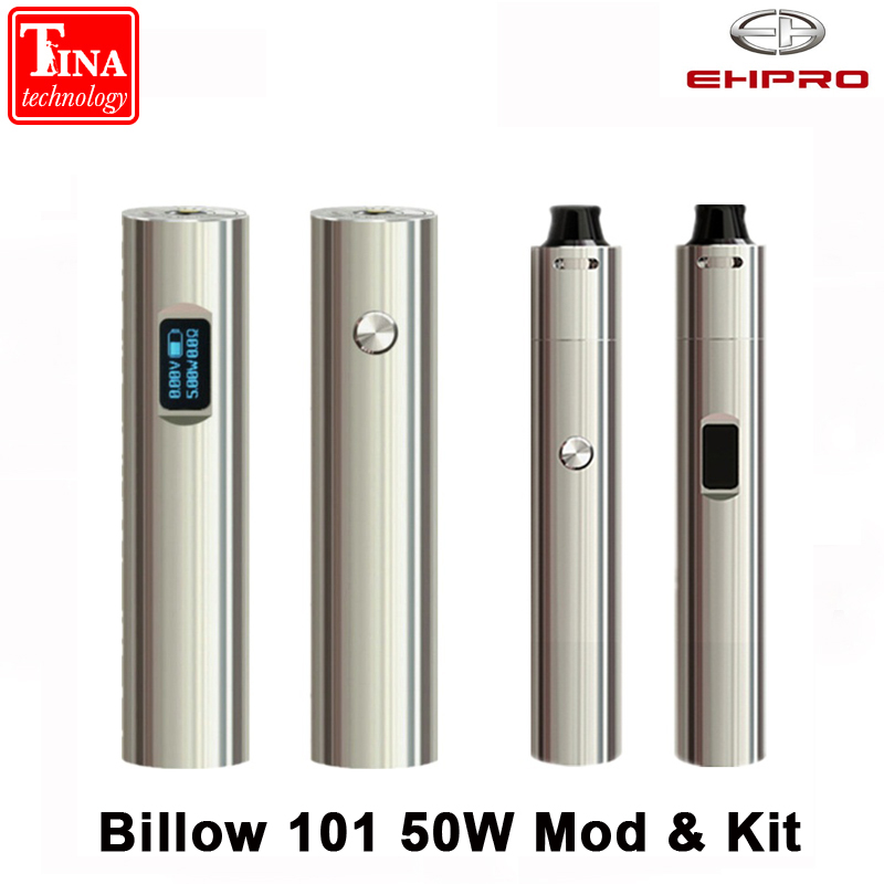 Original Ehpro Billow 101 50W Mod 0 49 inch OLED Screen Adjustable Tube fit 18350 18650