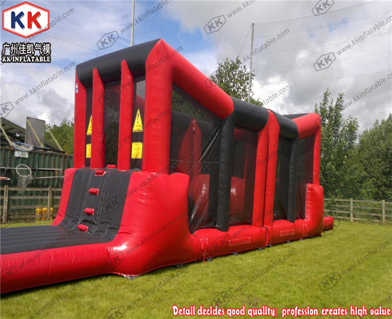 RED Ultimate Survivor Challenge inflatable Obstacle Course