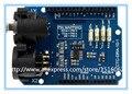 100% Genuino Escudo de DMX/módulo de tarjeta de Expansión Compatible con Arduino 1.0 para DMX Master device/obra de arte en DMX512 redes