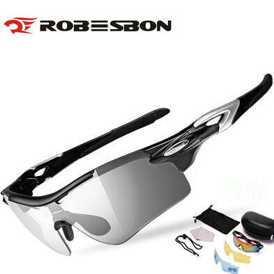 ROBESBON 2018 Photochromic Cycling Goggles Cycling Glasses Discoloration MTB Bike Sport Sunglasses bicycle Eyewear sport case rockbros discoloration cycling glasses with light mtb mountain bicycle sunglasses oculos masculino gs0004