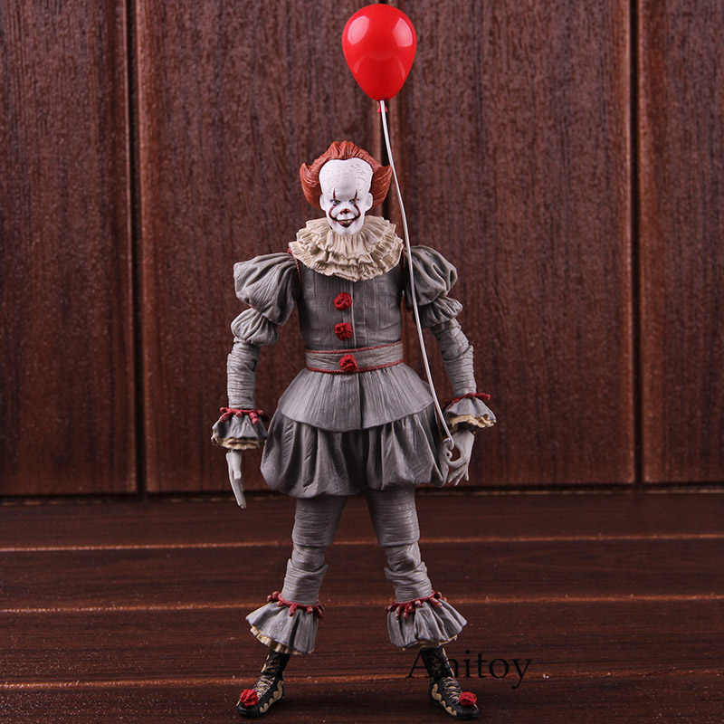 Neca Pennywise Stephen King S 'È Il Clown Horror Figura di Azione Del Pvc Figure da Collezione Model Toy