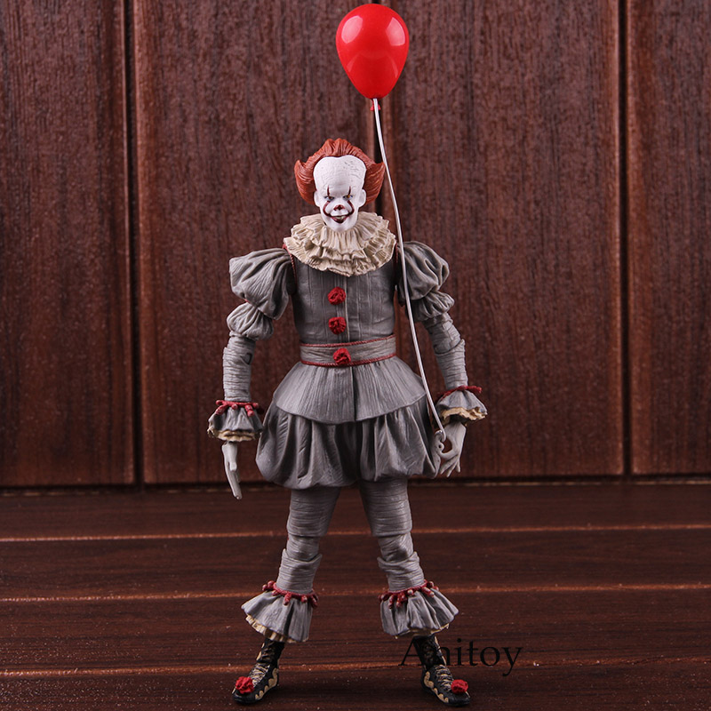Action Figure NECA Stephen King's It Pennywise Figure Horror PVC Collectible Model Toy