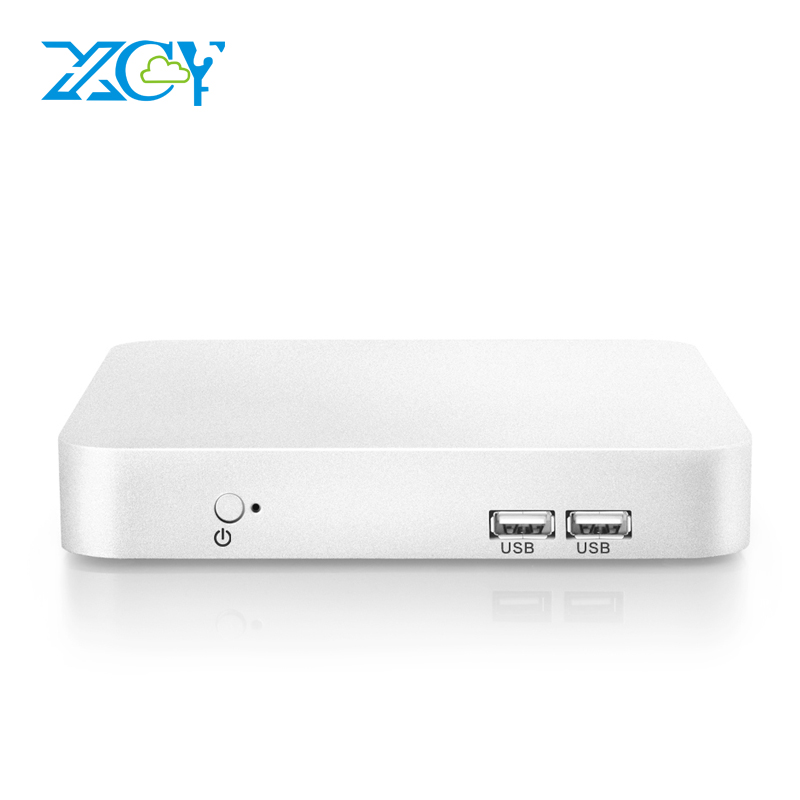 XCY Mini PC Intel Core i7 6500U i5 6200U i3 6100U Windows 10 8GB DDR4 240GB SSD HTPC 4K Desktop PC HDMI VGA WiFi Gigabit LAN partaker b11 business barebone computer fanless mini pc with intel core i3 6100u i5 6200u i7 6500u i7 6600u 6th gen skylake cpu