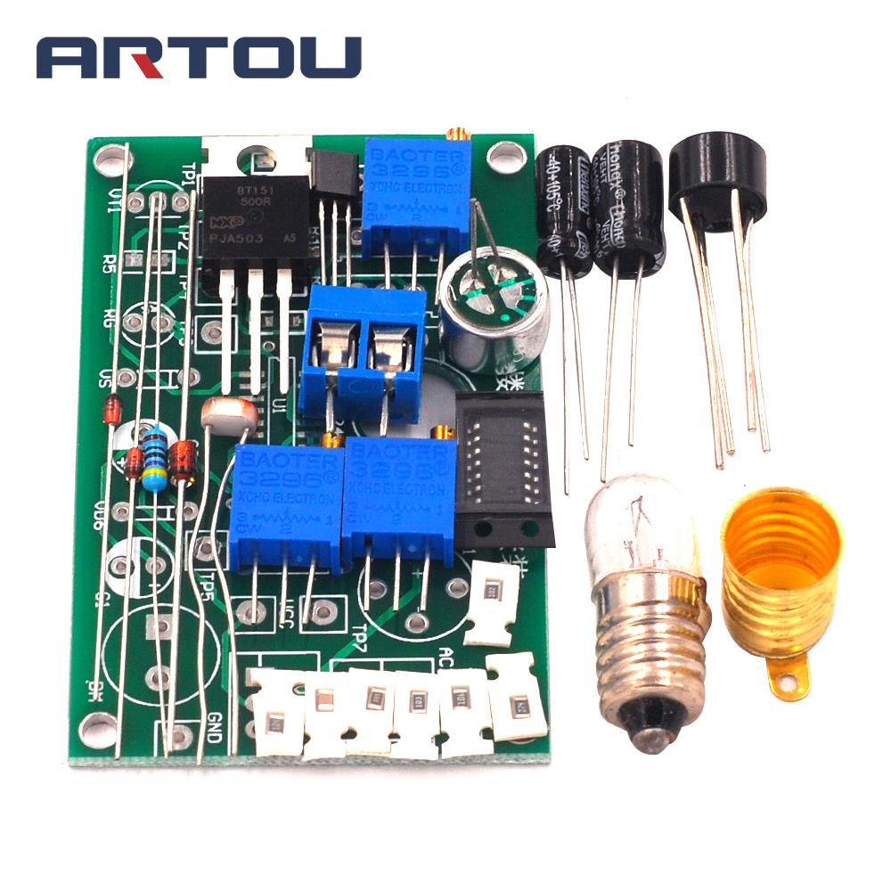 Sound and Light Control Corridor Light Circuit Kit Electronic Product Assembly and Commissioning Preparation Guide Training Part