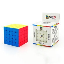 MoYu MOFANGJIAOSHI 5x5x5 Sticker Speed Cube Magic Cube Puzzle Toys