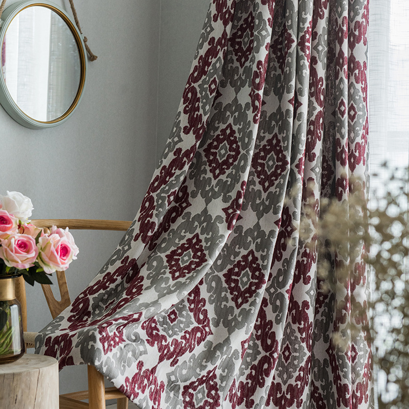 Curtains for Living Room Chenille Curtain Fabric Cotton and Linen Curtain Fabric Shade FabricCurtains for Living Room Chenille Curtain Fabric Cotton and Linen Curtain Fabric Shade Fabric