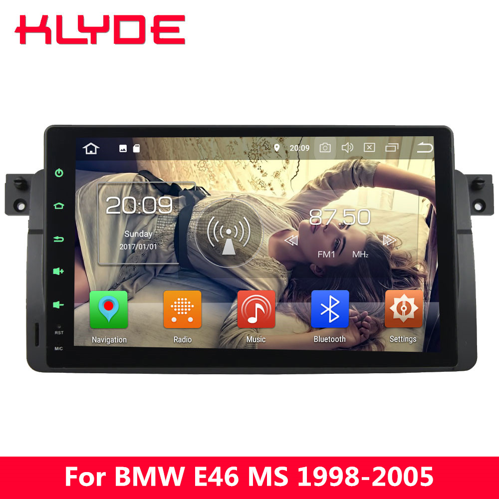 KLYDE 9 IPS 4G Android 8.0 7.1 6.0 Octa Core 4GB RAM 32GB DAB Car DVD Player Radio GPS Navigation For BMW M3 3 Series E46 328i