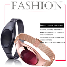 Фустер модная одежда для девочек смарт-браслет сердечного ритма Monitores часы Presión arterial Smart Band Black, розовый, серебряный Товары в наличии