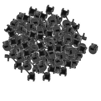 100Pcs HDB-3P-4 Flat Cable Wire Strain Relief Bush Grommet 10.2mm Length