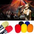 Thick KTV Microphone Windscreen Soft Foam Cover Sponge Skin New Fashion Colorful
