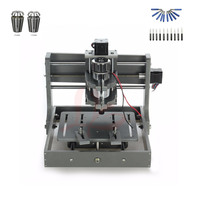 DIY mini cnc router 2020 with free cutter and collet