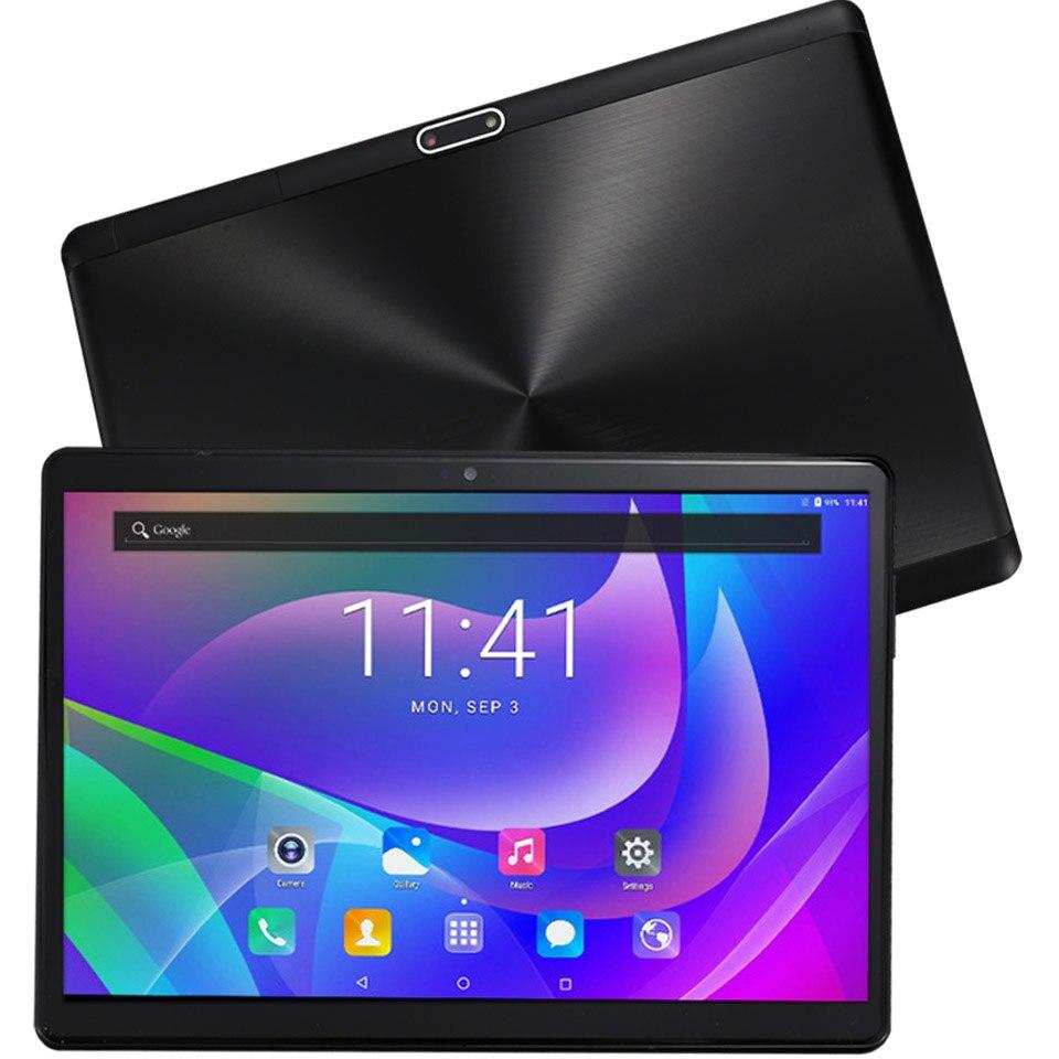 Version globale 10 pouces 3G 4G LTE tablette PC Google Play 1920*1200 IPS 2.5D verre trempé tablettes Android 8.1 livraison gratuite