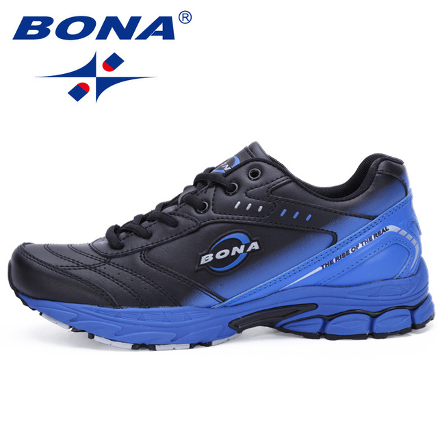 74bcb76a7d6b3 BONA New Style Men Running Shoes Typical Sport Shoes Outdoor Walking Shoes  Men Sneakers Comfortable Women