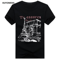 KUYOMENS Men t-shirt Plus Size Tee Shirt Homme Summer Short Sleeve Casual Men's T Shirts Male TShirts Camiseta 3D T shirt Homme 2