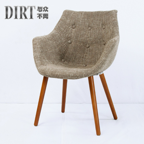 Special Negotiate Chair Wood Dining Chairs Minimalist Scandinavian Design Small Dinette Creative Fashion Wooden