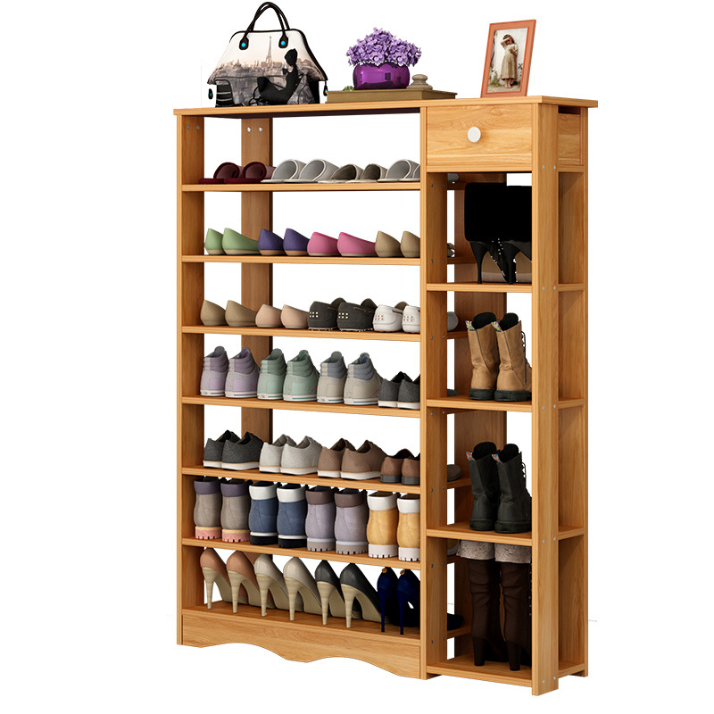 30Simple household multi layer shoe rack storage shoe cabinet economical storage rack multi function dust shoe rack цена