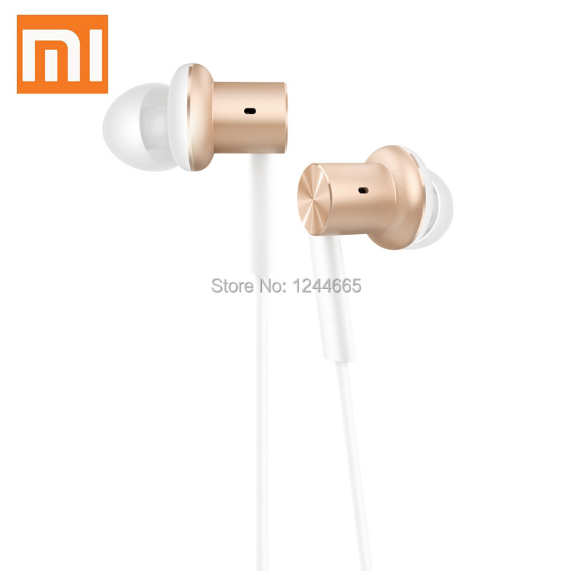 1Original Xiaomi Hybrid Mi In-Ear Earphone Piston Earphones With MIC For Lenovo Android Phones