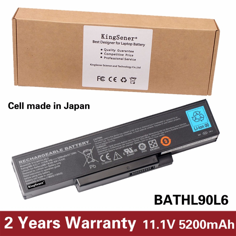 KingSener Japanese Cell Laptop Battery For DELL Inspiron 1425 1426 1427 1428 BATHL90L6 BATEL80L9 BATEL80L6 BATCL80L9 BATHL91L6 11 1v 97wh korea cell new m5y0x laptop battery for dell latitude e6420 e6520 e5420 e5520 e6430 71r31 nhxvw t54fj 9cell
